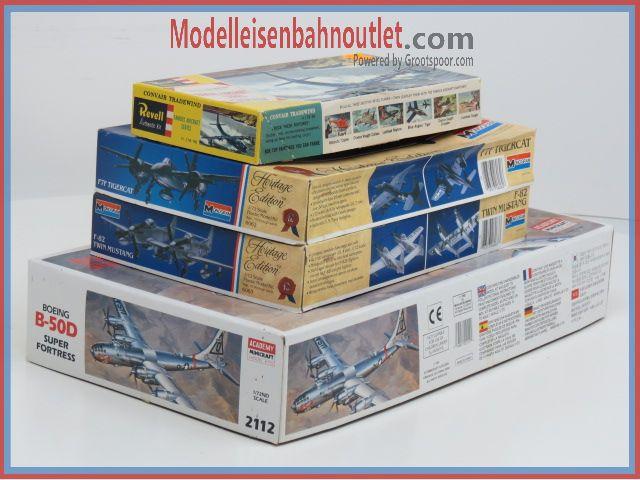 1:72 Set. 4St. Revell H-178, Monogram 6062 & 6063, Academy 2112 #85