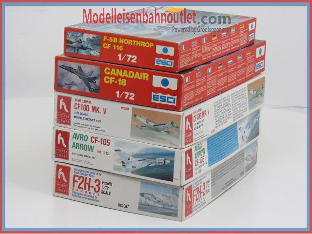 1:72 Canada Set. 5 St. ESCI 9035 & 9040, Hobby Craft 1394, 1392, 1397 #87