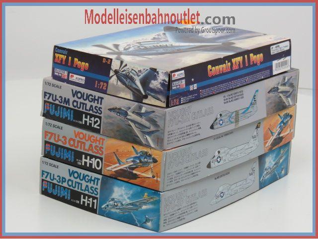 1:72 Set 4st. Master D-2, Fujimi H-10, H-11& H-12 #90